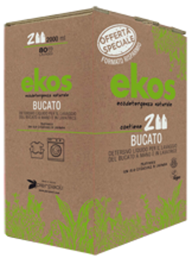 Pierpaoli EKOS591261 detersivo Bucato A Mano E In Lavatrice 2Pz