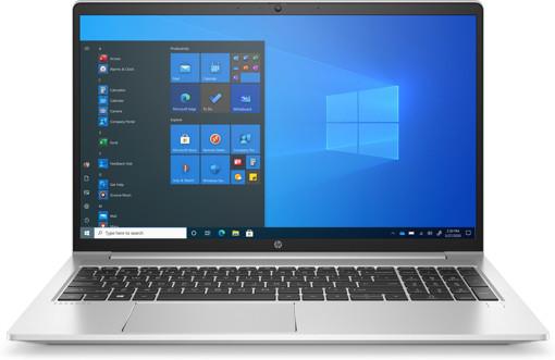 "Immagine di HP ProBook 450 G8 Computer portatile 39,6 cm (15.6"") 1920 x 1080 Pixel Touch screen Intel Core i7-11xxx 16 GB DDR4-SDRAM 512 GB SSD Wi-Fi 6 (802.11ax) Windows 10 Pro Argento"