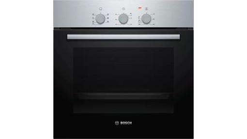 Bosch Serie 2 HBF011BR0 forno Forno elettrico 66 L 3300 W A Nero, Acciaio inossidabile