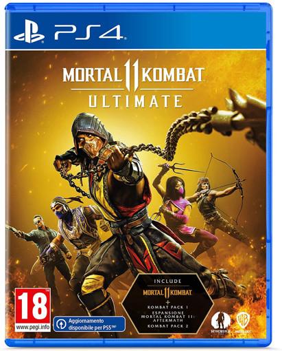 Immagine di GIOCO PS4 MORTAL KOMBAT 11 ULTIMATE