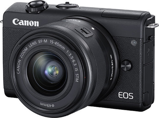 Canon EOS M200 BK M15-45 S+SB130+16GB EU MILC 24,1 MP CMOS 6000 x 4000 Pixel Nero