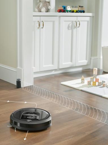 iRobot Roomba i7+ aspirapolvere robot 0,4 L Senza sacchetto Nero