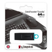 Kingston Technology DataTraveler Exodia unità flash USB 64 GB USB tipo A 3.2 Gen 1 (3.1 Gen 1) Nero