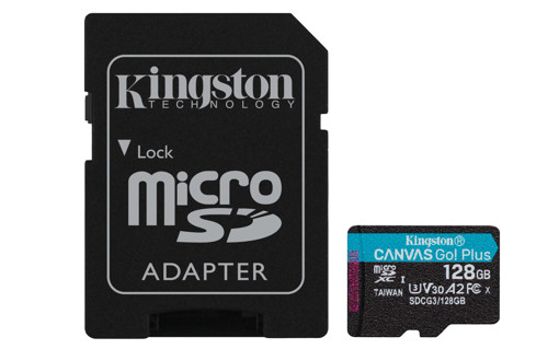 Kingston Technology Canvas Go! Plus memoria flash 128 GB MicroSD UHS-I Classe 10