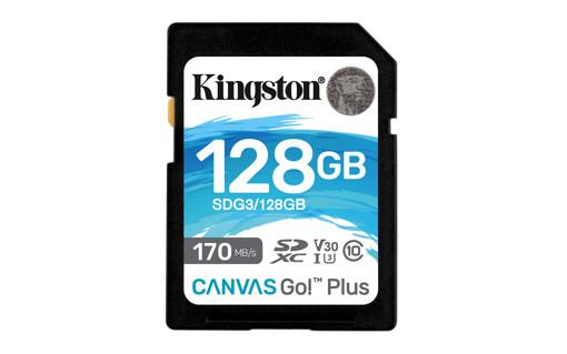 Kingston Technology Canvas Go! Plus memoria flash 128 GB SD UHS-I Classe 10