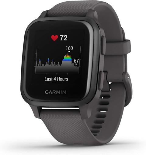 "Garmin Venu SQ 3,3 cm (1.3"") LCD Grigio GPS (satellitare)"