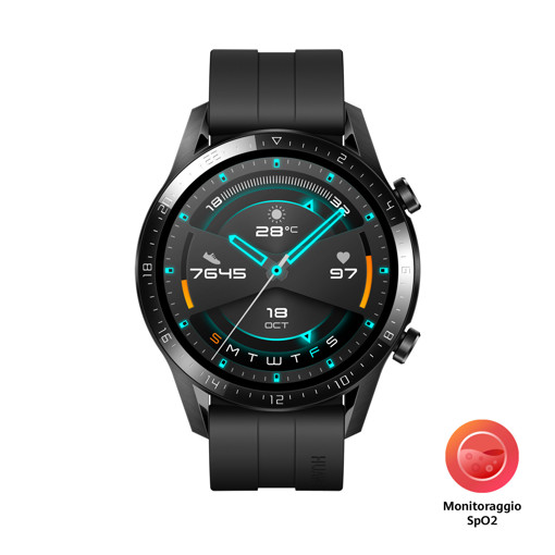 "Huawei WATCH GT 2 3,53 cm (1.39"") 46 mm AMOLED Nero GPS (satellitare)"