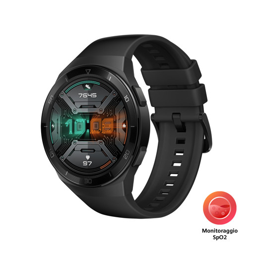 "Huawei WATCH GT 2e 3,53 cm (1.39"") 46 mm AMOLED Nero GPS (satellitare)"