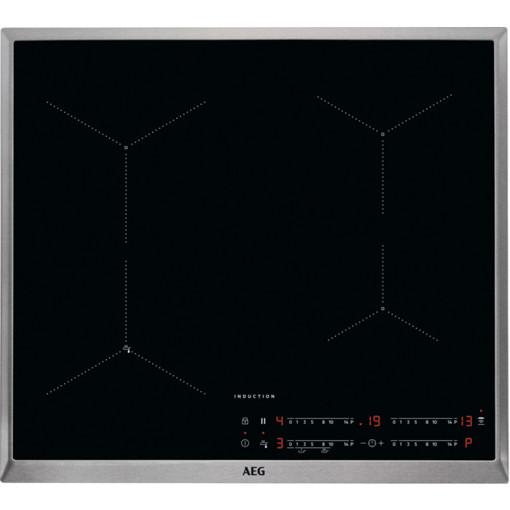 AEG IAE64433XB Nero Da incasso 60 cm A induzione 4 Fornello(i)