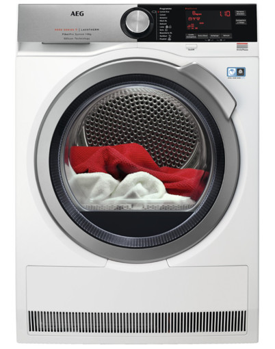 AEG T9 DEC 857D asciugatrice Libera installazione Caricamento frontale 8 kg A++ Bianco