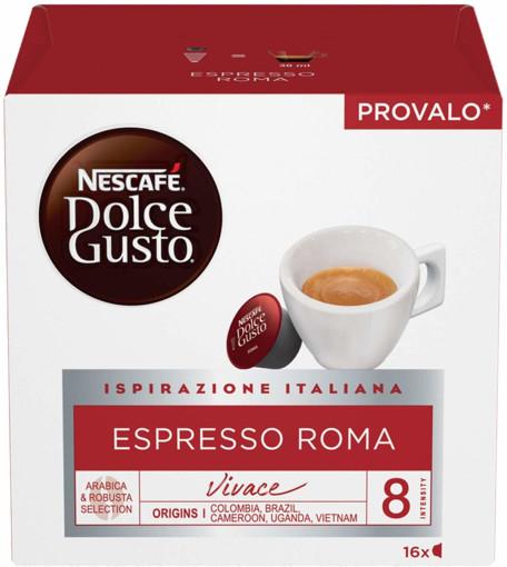 Nestle Nescafé Dolce Gusto Espresso Roma Capsule caffè 16 pezzo(i)