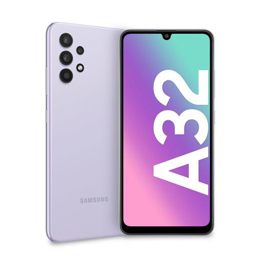 "Samsung Galaxy SM-A325F/DS 16,3 cm (6.4"") Doppia SIM Android 11 4G USB tipo-C 4 GB 128 GB 5000 mAh Viola"