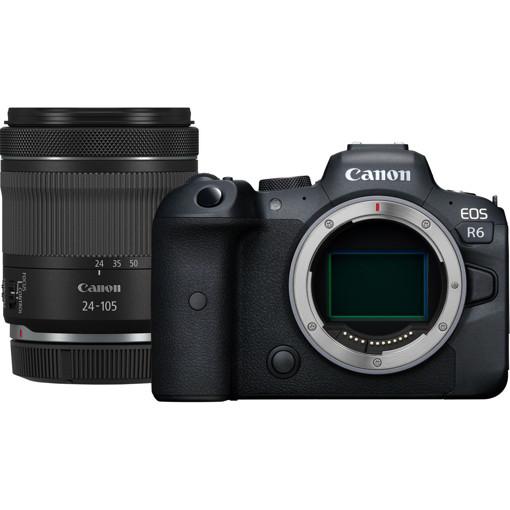 Canon EOS R6 + RF 24-105mm F4-7.1 IS STM MILC 20,1 MP CMOS 5472 x 3648 Pixel Nero