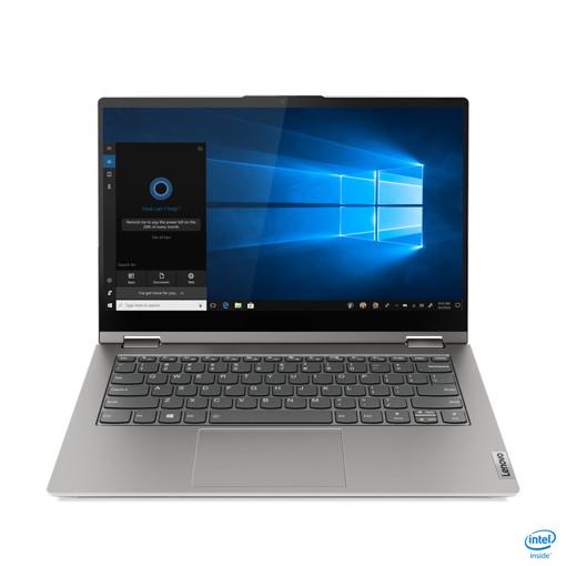 """Lenovo ThinkBook 14s Yoga Ibrido (2 in 1) 35,6 cm (14"""") 1920 x 1080 Pixel Touch screen Intel® Core™ i5 di undicesima generazione 8 GB DDR4-SDRAM 512 GB SSD Wi-Fi 6 (802.11ax) Windows 10 Home Grigio"""