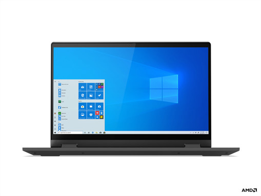 """Lenovo IdeaPad Flex 5 Ibrido (2 in 1) 35,6 cm (14"""") 1920 x 1080 Pixel Touch screen AMD Ryzen 5 8 GB DDR4-SDRAM 512 GB SSD Wi-Fi 6 (802.11ax) Windows 10 Home Grafite, Grigio"""