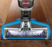 Bissell CrossWave Senza sacchetto 0,62 L 560 W Blu, Titanio
