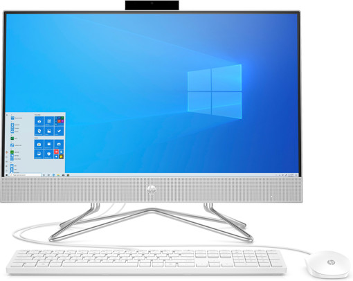 "HP 24-dp0049n 60,5 cm (23.8"") 1920 x 1080 Pixel AMD Ryzen 5 8 GB DDR4-SDRAM 256 GB SSD Windows 10 Home Wi-Fi 5 (802.11ac) PC All-in-one Argento"