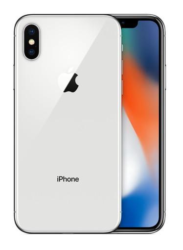 "TIM Apple iPhone X 14,7 cm (5.8"") SIM singola iOS 11 4G 64 GB Argento Rinnovato"