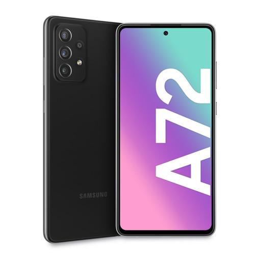 "Samsung Galaxy A72 smartphone 17 cm (6.7"") Doppia SIM Android 11 4G USB tipo-C 6 GB 128 GB 5000 mAh Nero"