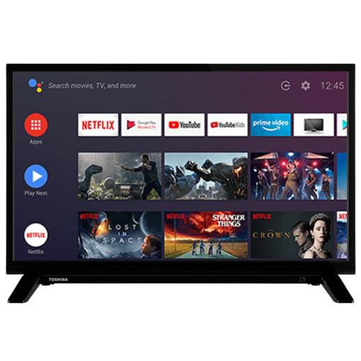 "Toshiba 24WA2063DA TV 61 cm (24"") HD Smart TV Wi-Fi Nero"