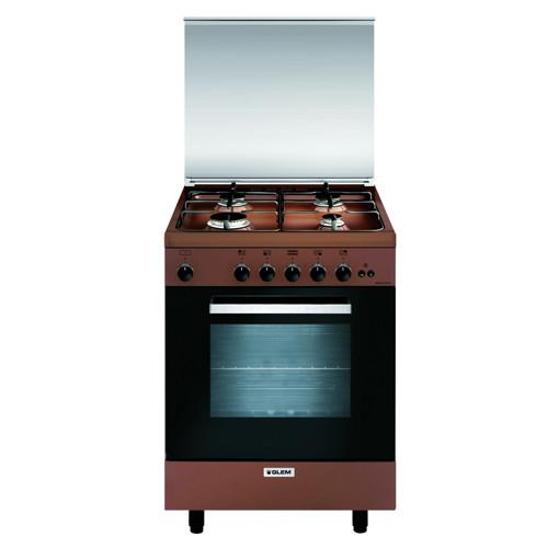 Glem Gas A664GC cucina Piano cottura Marrone A