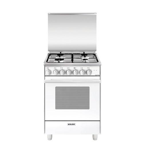 Glem Gas U654MX6 cucina Piano cottura Bianco A