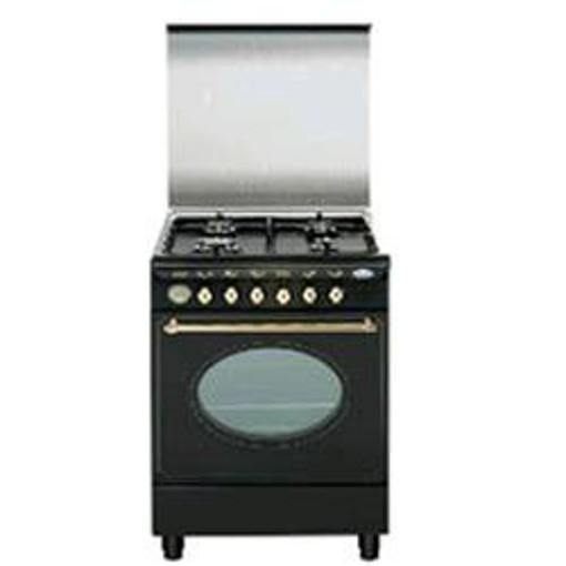 Glem Gas UA66VR3 cucina Piano cottura Nero