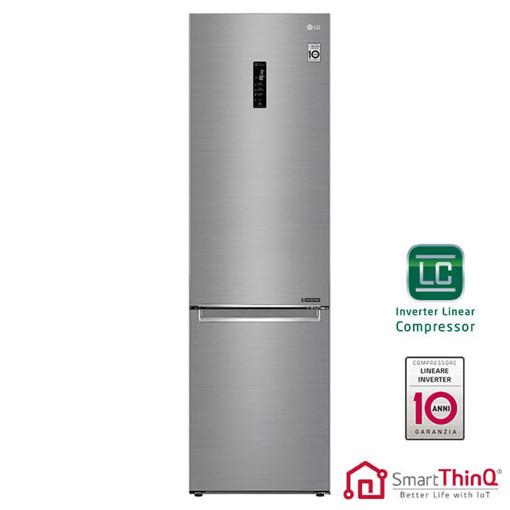 LG GBB72PZDFN frigorifero con congelatore Libera installazione 384 L D Acciaio inossidabile