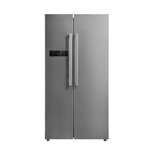 Midea MS689A3 frigorifero side-by-side Libera installazione 510 L Acciaio inossidabile