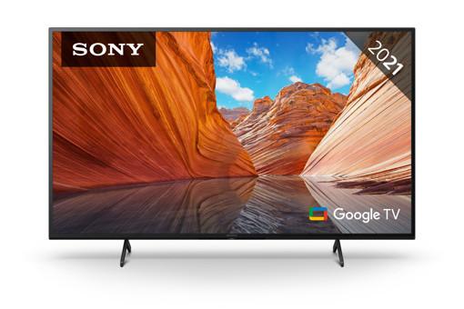 Sony BRAVIA KD50X81J - Smart Tv 50 pollici, 4k Ultra HD LED, HDR, con Google TV (Nero, modello 2021)