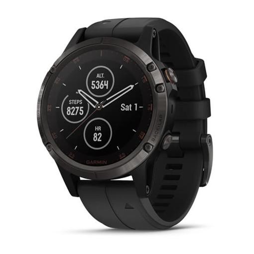 Garmin fēnix 5 Plus orologio sportivo Bluetooth 240 x 240 Pixel Nero, Acciaio inossidabile