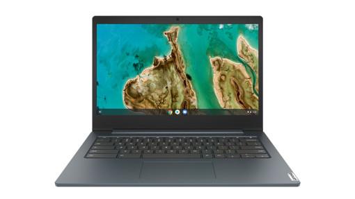 """Lenovo IdeaPad 3 CB LPDDR4-SDRAM Chromebook 35,6 cm (14"""") 1366 x 768 Pixel Intel® Celeron® N 8 GB 64 GB eMMC Wi-Fi 5 (802.11ac) Chrome OS Blu"""