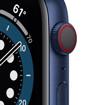 Apple Watch Serie 6 GPS + Cellular, 44mm in alluminio azzurro con cinturino Sport Deep navy