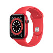 Apple Watch Serie 6 GPS, 44mm in alluminio PRODUCT(RED) con cinturino Sport PRODUCT(RED)