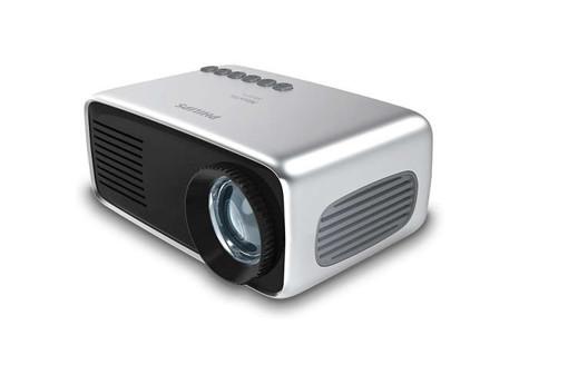 Philips NeoPix Start+ videoproiettore Proiettore portatile LED Nero, Grigio