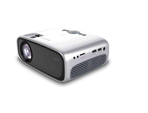 Philips NeoPix Easy+ videoproiettore Proiettore portatile LED 800x480 Nero, Grigio