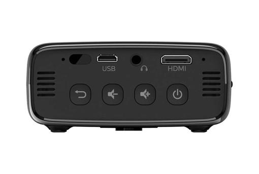 Philips PPX320/INT videoproiettore Proiettore portatile 150 ANSI lumen DLP 540p (960x540) Nero