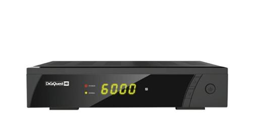 Digiquest RICD1192 set-top box TV Nero