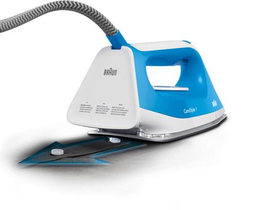 Braun CareStyle 1 IS 1012 BL 2400 W 1,5 L Ceramica Blu, Bianco