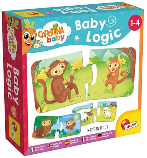 Lisciani Carotina baby logic mamme e cuccioli