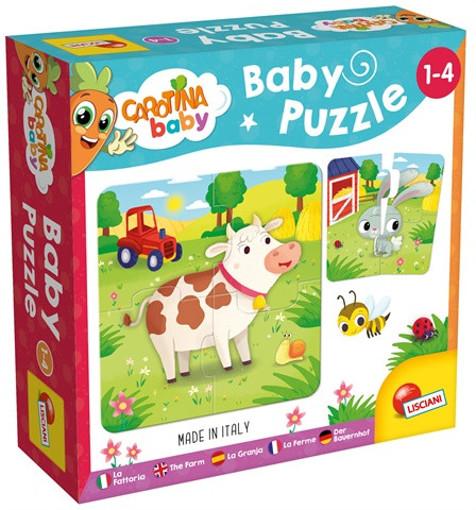 Lisciani 80083 puzzle 4 pezzo(i)