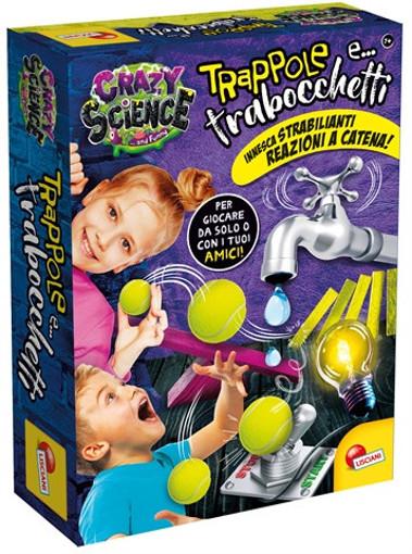 Lisciani Crazy science laboratorio dei trabocchetti mini