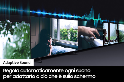 """Samsung Series 6 TV QLED 4K 65"""" QE65Q60A Smart TV Wi-Fi Black 2021"""