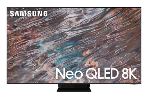 "Samsung Series 8 TV Neo QLED 8K 75"" QE75QN800A Smart TV Wi-Fi Stainless Steel 2021"