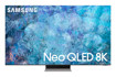 "Samsung Series 9 TV Neo QLED 8K 75"" QE75QN900A Smart TV Wi-Fi Stainless Steel 2021"
