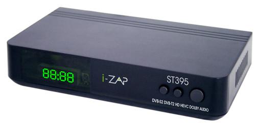 i-ZAP T395 Terrestre HD Nero