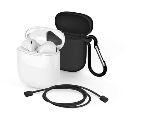 Meliconi MySound SAFE PODS 5.1 + Black Cover Cuffia Auricolare Bluetooth Bianco