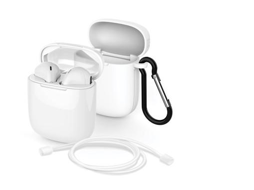 Meliconi MySound SAFE PODS 5.1 + White Cover Cuffia Auricolare Bluetooth Bianco