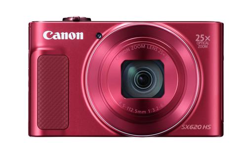 "Canon PowerShot SX620 HS 1/2.3"" Fotocamera compatta 20,2 MP CMOS 5184 x 3888 Pixel Rosso"