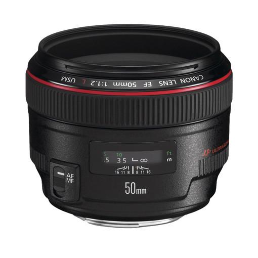 Canon EF 50mm f/1.2L USM SLR Nero